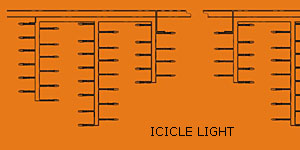 Solas LED icicle KARNAR INTERNATIONAL GROUP LTD