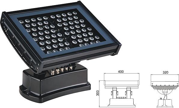 Led dmx light,Solas fuadain balla LED,108W 216W a 'toirt buaidh air tuiltean 2, LWW-7-72P, KARNAR INTERNATIONAL GROUP LTD