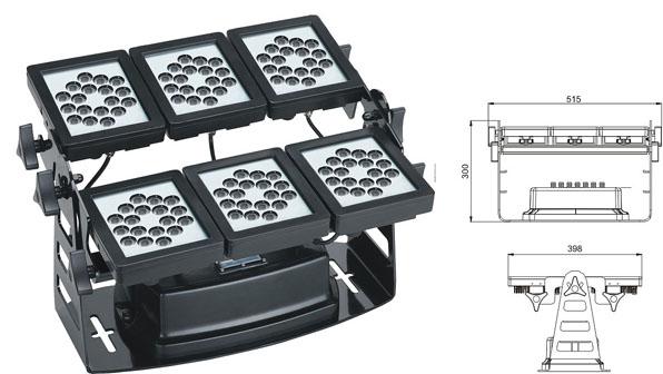 ዱካ dmx ብርሃን,የኢንዱስትሪ መርመራ ብርሃን,220W ካሬ LED ግድግዳ ማጠቢያ 1, LWW-9-108P, ካራንተር ዓለም አቀፍ ኃ.የተ.የግ.ማ.