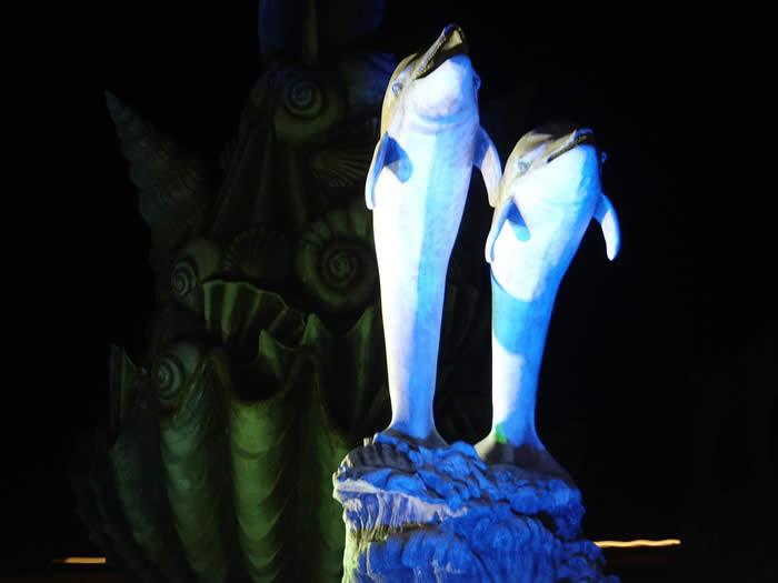 ዱካ dmx ብርሃን,የ LED መብራት,18 የተበጀ አይነት አመራር በረዶ 5, Dolphin, ካራንተር ዓለም አቀፍ ኃ.የተ.የግ.ማ.