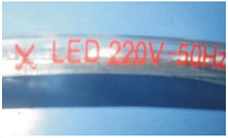 Led dmx light,stripe air a stiùireadh,110 - 240V AC SMD 3014 LED ROPE LIGHT 11, 2-i-1, KARNAR INTERNATIONAL GROUP LTD