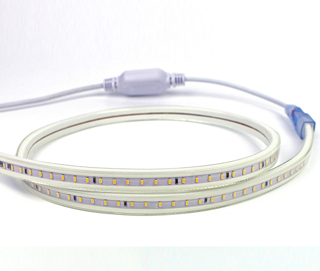 Led dmx light,teip air a stiùireadh,12V DC SMD 5050 LED ROPE LUATH 3, 3014-120p, KARNAR INTERNATIONAL GROUP LTD