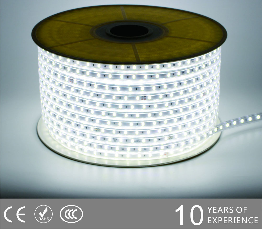 Guangdong udhëhequr fabrikë,LED dritë litar,240V AC Nuk ka Wire SMD 5730 LEHTA LED ROPE 2, 5730-smd-Nonwire-Led-Light-Strip-6500k, KARNAR INTERNATIONAL GROUP LTD