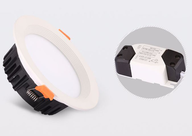 Led drita dmx,dritë poshtë,Kina 7w recessed Led downlight 2, a2, KARNAR INTERNATIONAL GROUP LTD
