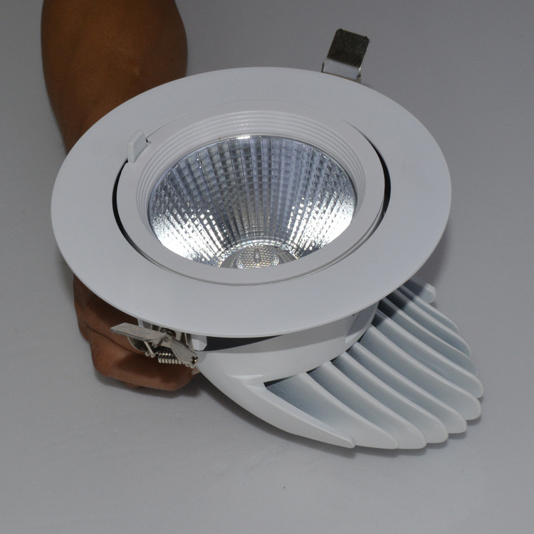 Led dmx light,led illumination,7w elephant trunk recessed Led downlight 3, e_2, KARNAR INTERNATIONAL GROUP LTD