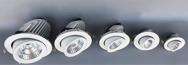 Led dmx light,led illumination,50w elephant trunk recessed Led downlight 1, ee, KARNAR INTERNATIONAL GROUP LTD