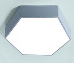 Led drita dmx,Projekti i ZHEL,36W gjashtëkëndësh udhëhequr dritë tavan 7, blue, KARNAR INTERNATIONAL GROUP LTD