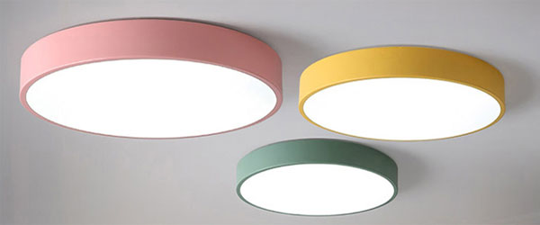 Led dmx light,Macarons color,24W Circular led ceiling light 1, style-4, KARNAR INTERNATIONAL GROUP LTD