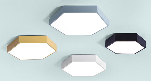 Guangdong led factory,LED project,36W Hexagon led ceiling light 1, style-5, KARNAR INTERNATIONAL GROUP LTD