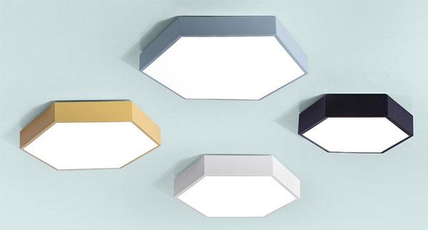 Led dmx light,Pròiseact LED,Bha 18W Hexagon a 'stiùireadh solas mullach 1, style-5, KARNAR INTERNATIONAL GROUP LTD