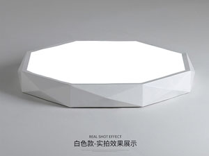 Guangdong led factory,Macarons color,12W Square led ceiling light 6, white, KARNAR INTERNATIONAL GROUP LTD