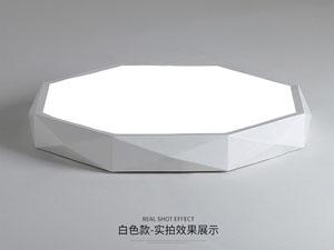 Led drita dmx,Projekti i ZHEL,24W Forma tridimensionale e udhëhequr nga tavani 5, white, KARNAR INTERNATIONAL GROUP LTD
