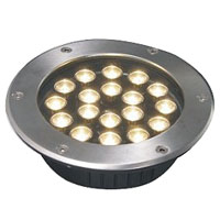 Led dmx light,LED buried light,36W Circular buried lights 6, 18x1W-250.60, KARNAR INTERNATIONAL GROUP LTD