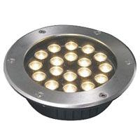 Guangdong udhëhequr fabrikë,Dritë nëntokësore LED,3W Dritat rrethore të varrosura 6, 18x1W-250.60, KARNAR INTERNATIONAL GROUP LTD