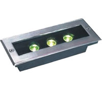 Guangdong led factory,LED buried lights,6W Square Buried Light 6, 3x1w-120.85.55, KARNAR INTERNATIONAL GROUP LTD