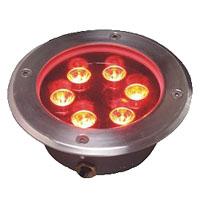Guangdong udhëhequr fabrikë,Dritë nëntokësore LED,3W Dritat rrethore të varrosura 2, 5x1W-150.60-red, KARNAR INTERNATIONAL GROUP LTD