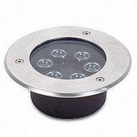 Guangdong led factory,LED buried lights,6W Square Buried Light 3, 6x1W, KARNAR INTERNATIONAL GROUP LTD