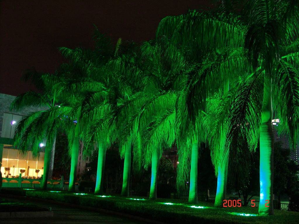 Led dmx light,LED fountain lights,24W Circular buried lights 8, Show2, KARNAR INTERNATIONAL GROUP LTD