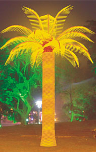ایل ای ڈی ناریل کھجور کے درخت روشنی کرنن انٹرنیشنل گروپ لمیٹڈ