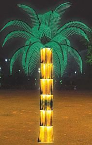 LED kokoso palmių šviesa KARNAR INTERNATIONAL GROUP LTD