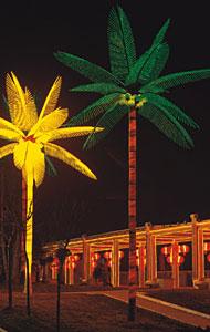 Luz da árvore de palma de coco do diodo emissor de luz KARNAR INTERNATIONAL GROUP LTD
