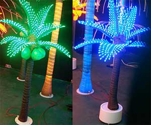 Светодиодна кокосова палмова светлина КАРНАР МЕЖДУНАРОДНА ГРУПА ООД