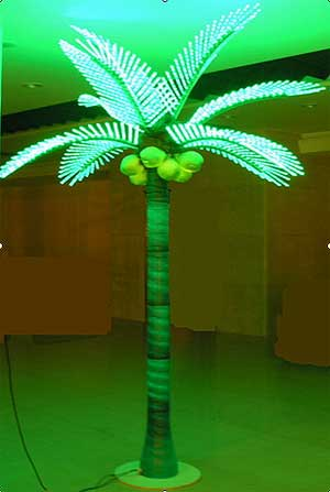 Llum LED de palmera de coco KARNAR INTERNATIONAL GROUP LTD